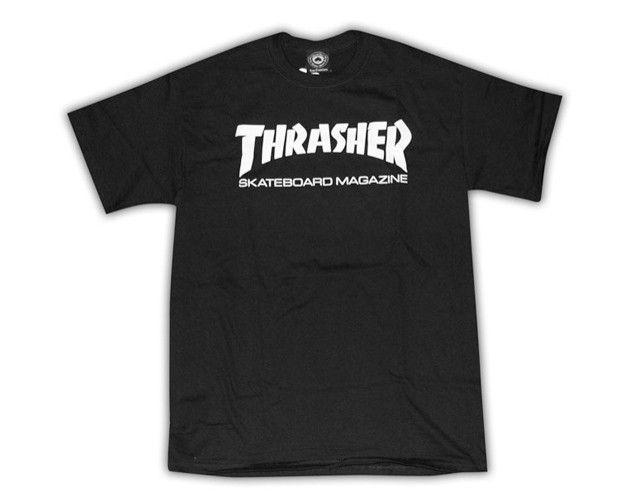 Thrasher Mag Thrasher Skate Mag Logo T-shirt - Black