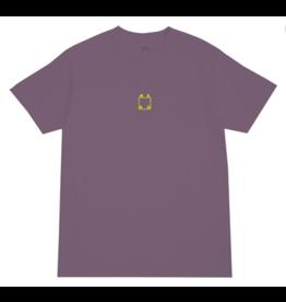 WKND brand WKND Logo Pigment Dye T-shirt - Wine Purple