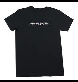 WKND brand WKND Fruity Fruit T-shirt - Black (Large)