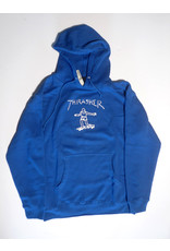 Thrasher Mag Thrasher Gonz Hoodie - Blue