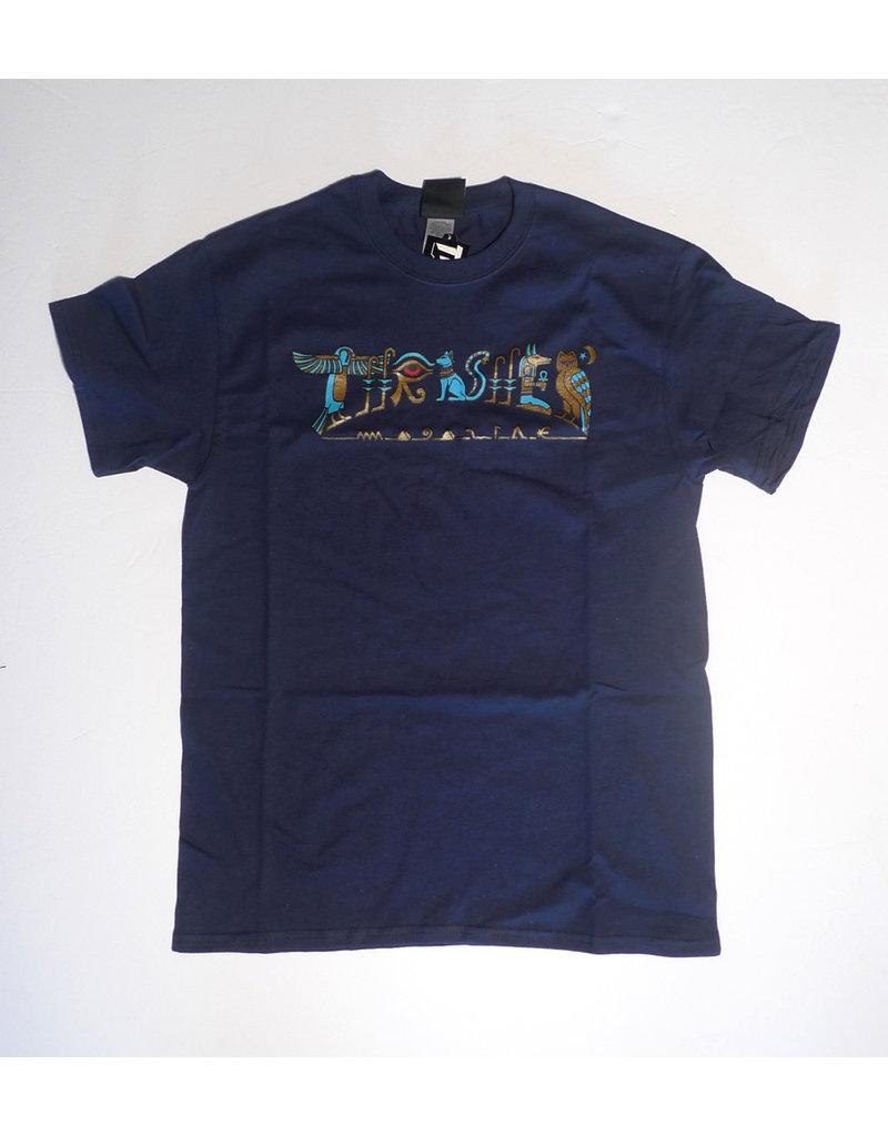 Thrasher Mag Thrasher Hieroglyphic T-shirt - Navy Blue