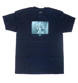 Theories Brand Theories Disharmony Heavy Duty T-shirt - Navy