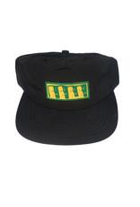 Theories Brand Theories MOAI nylon stapback hat - Black