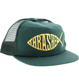 Thrasher Mag Thrasher Fish Mesh Hat - Green