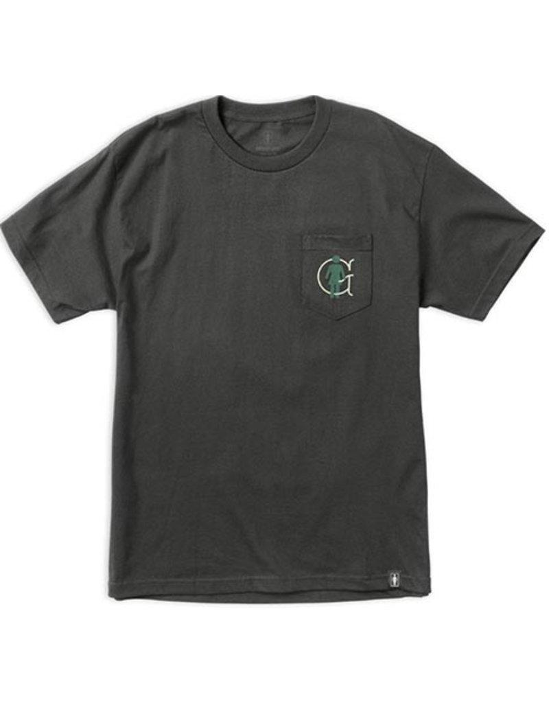 Girl Girl OG Liner Pocket T-shirt - Graphite