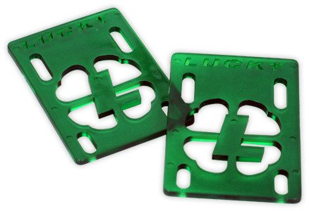 "Lucky Lucky Risers 1/8"" - Green (Set of 2)"