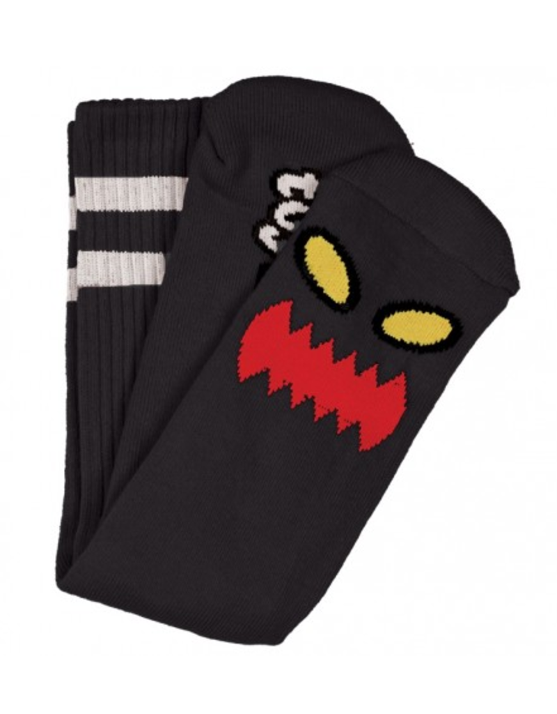 Toy Machine Toy Machine Monster Face Sock - Black