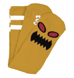 Toy Machine Toy Machine Monster Face Sock - Mustard