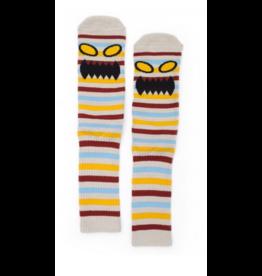 Toy Machine Toy Machine Monster Face Mini Stripes Socks - Multi
