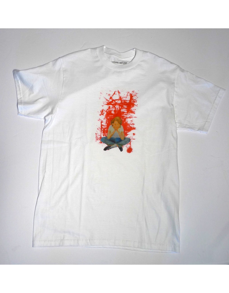Fucking Awesome Fucking Awesome Dill Painting T-shirt - White