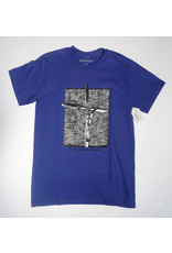 Fucking Awesome Fucking Awesome GG Goes to Heaven T-shirt - Cobalt (size Small or Medium)