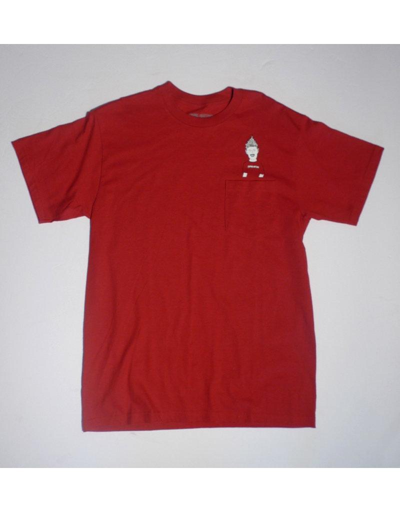 Fucking Awesome Fucking Awesome Ash Pocket T-shirt - Red (size medium)