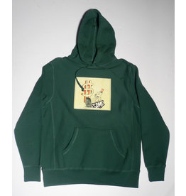 Fucking Awesome Fucking Awesome Hush Money Hoodie - Hunter Green (size Small or Medium)