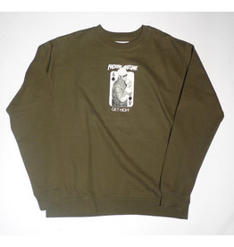 Fucking Awesome Fucking Awesome Get High Crewneck - Army