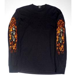 Hockey Hockey Joan of Arc Longsleeve T-shirt - Black (size Medium or Large)