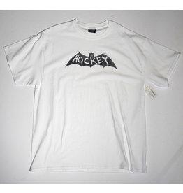 Hockey Hockey Bat T-shirt - White (size X-Large)