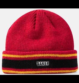 Baker Baker Dover Beanie - Black/Red