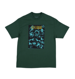 GX1000 GX1000 Forced Entry T-shirt - Forest Green