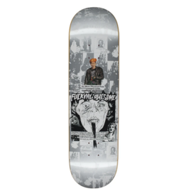 Fucking Awesome Fucking Awesome Face Reality Silver Deck - 8.5 x 31.91