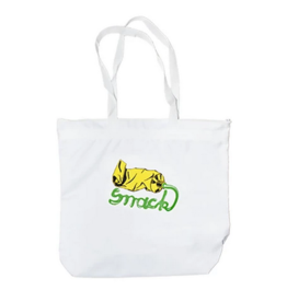 Snack Snack Squeeze Zipper Tote Bag