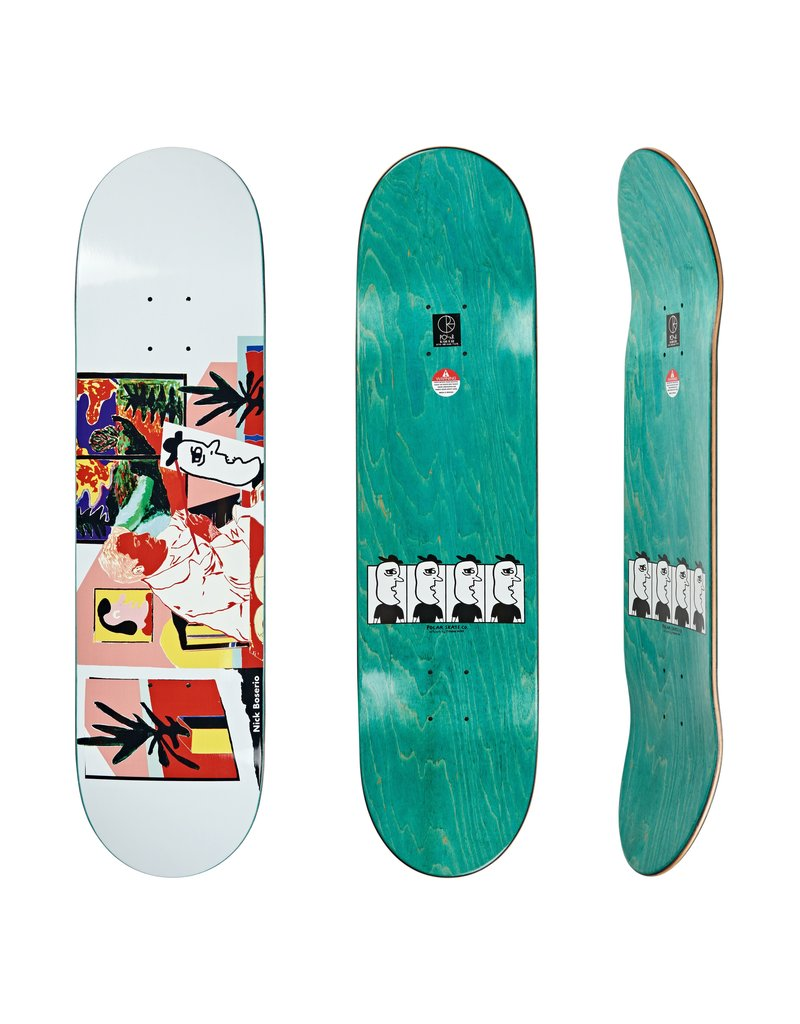 Polar Polar Nick Boserio The Artist Deck - 8.5 x 32.125