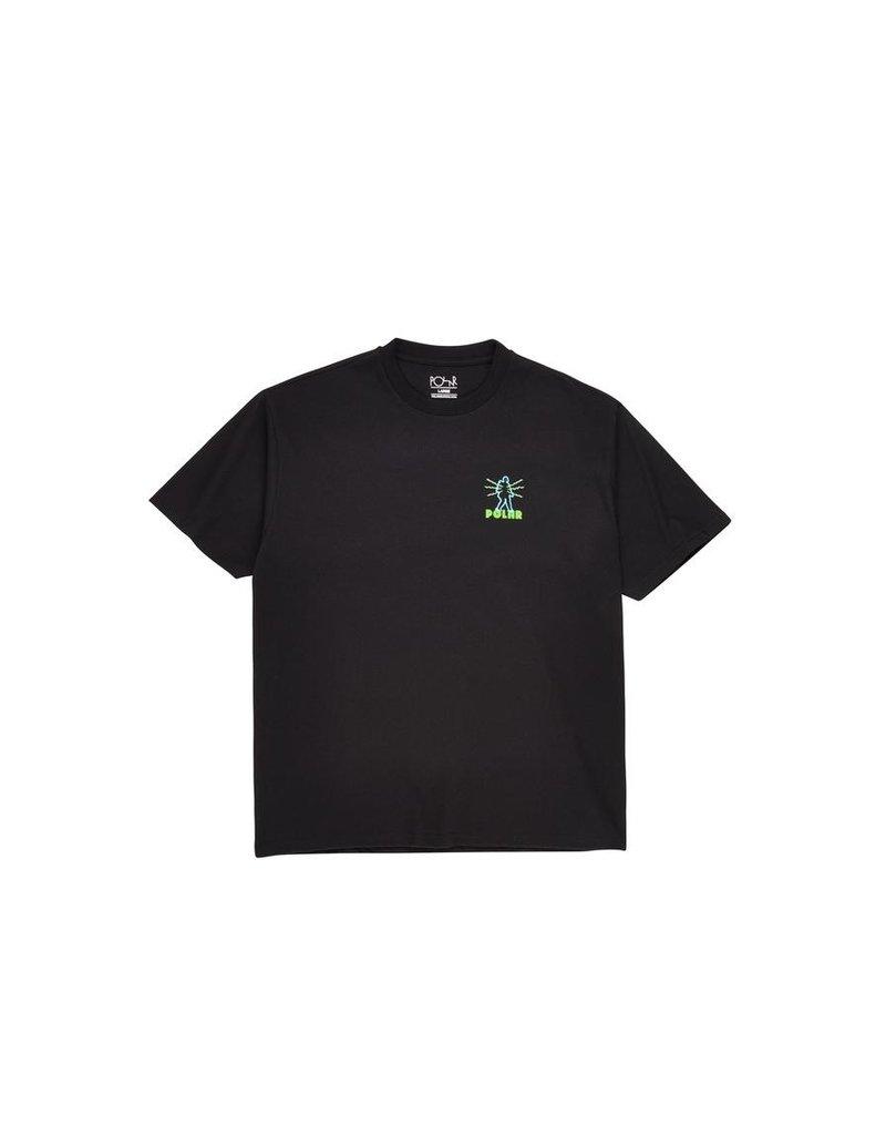 Polar Polar Electric Man T-shirt - Black (size Large)