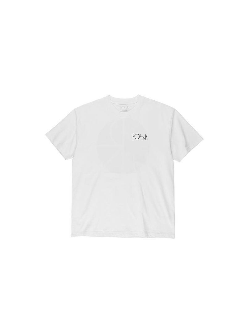 Polar Polar Callistemon Fill Logo T-shirt - White