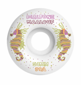 Dial Tone Wheel Co. Dial Tone Maalouf Crayon Ponyfish Standard 54mm 99a Wheels (set of 4)