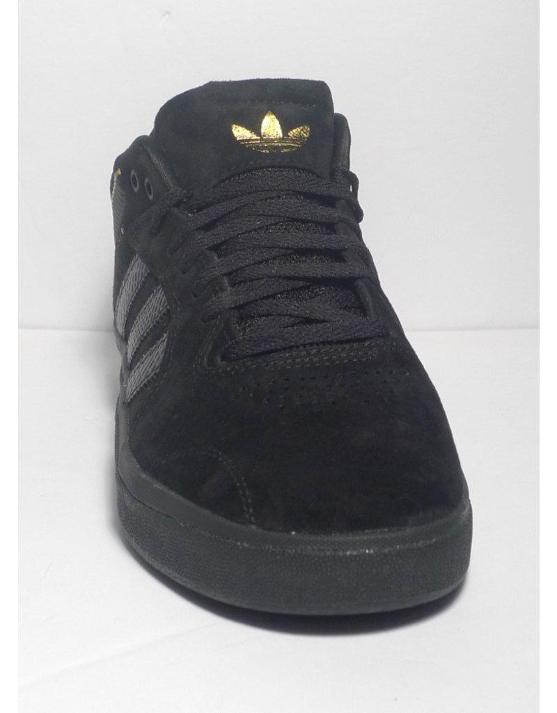Adidas Adidas Tyshawn - Black/Black/Gold Metallic (size 8 or 11.5)