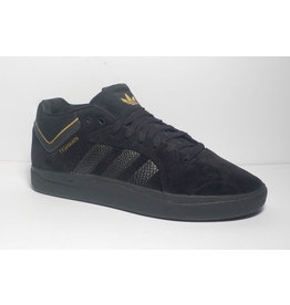 Adidas Adidas Tyshawn - Black/Black/Gold Metallic (size 8)