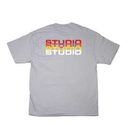 Studio Studio Fade T-shirt - Silver