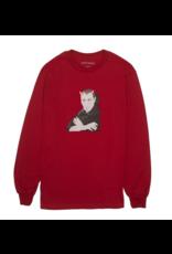 Fucking Awesome Fucking Awesome Charlie Babylon Longsleeve T-shirt - Red (size Large)