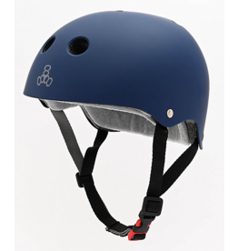 Triple 8 Triple 8 Certified Sweatsaver Helmet - Navy Rubber