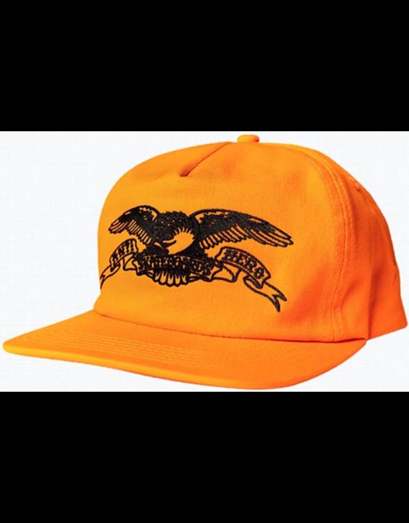 Anti-Hero Anti-Hero Basic Eagle EMB Snapback Hat - Orange/Black