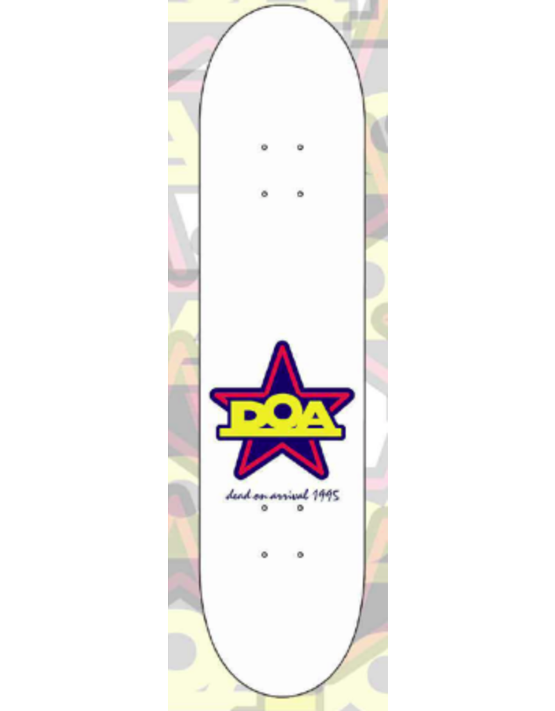 Dead On Arrival D.O.A. Shots Deck - 8.25
