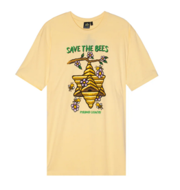 Pyramid Country Pyramid Country Save the Bees T-shirt - Yellow (size Large)