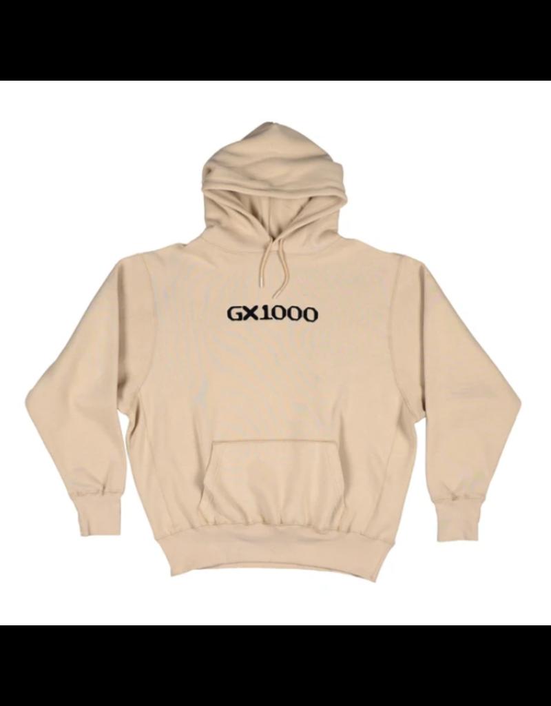 GX1000 GX1000 OG Logo Hoodie - Oatmeal