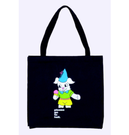 Quasi Quasi Go To Hell Tote Bag - Black