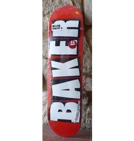 Baker Baker Team Brand Logo Red/White Deck - 8.12 x 31.5 O.G.
