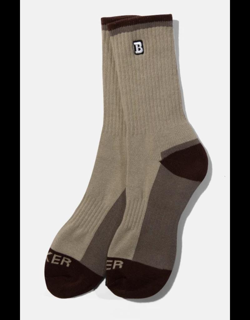 Baker Baker Capital B Sock - Concrete