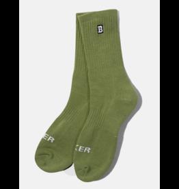 Baker Baker Capital B Socks - Olive