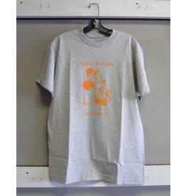 Snack Snack Seein the Sights T-shirt - Grey/Orange