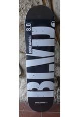BLVD Team Logo Black/White Deck - 8.0