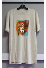 Habitat Habitat Leo Risen T-shirt -  Natural  (size Large)
