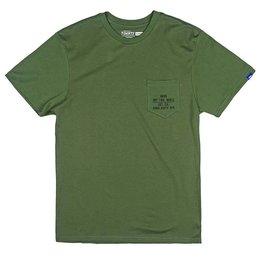 Vans Vans Fixed Pocket T-shirt - Rifle Green (size Large)