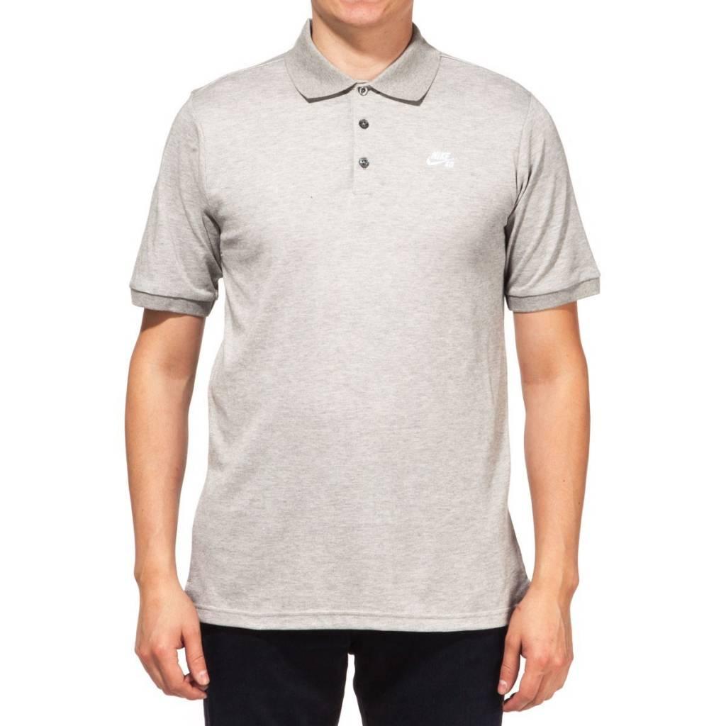 Nike SB Nike sb Dri-Fit Pique Polo - Grey (size Small)