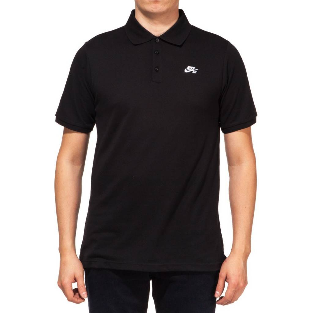 Nike SB Nike sb Dri-Fit Pique Polo - Black