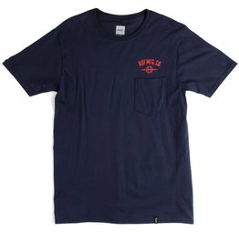 Huf Worldwide Huf MFG Station Pocket T-shirt - Navy