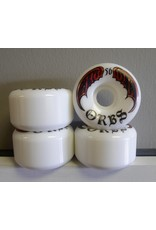 Orbs Orbs Specters White 56mm 99a Full Conical Wheels (set of 4)