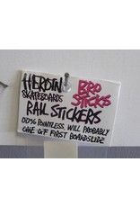 Heroin Heroin Rails Sticker Pack - Pink